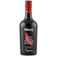 Масло оливковое первого холодного отжима Культивар Таджаска нефильтрованное 500 мл Alberti 1986
