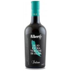 Масло оливковое первого холодного отжима 100% Italiano нефильтрованное 500 мл Alberti 1986