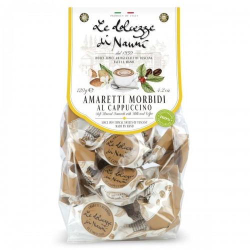 Амаретти мягкие со вкусом Капучино 120 г Le Dolcezze di Nanni