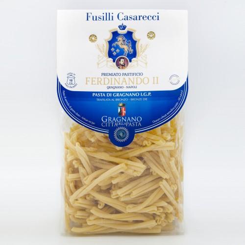 Паста Фузилли Казереччи IGP Gragnano 500 г Ferdinando II