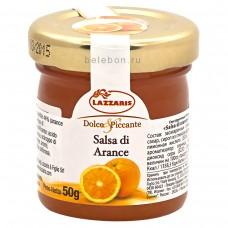 """Соус фруктовый из апельсинов """"Salsa di arance"""" 50 г"""