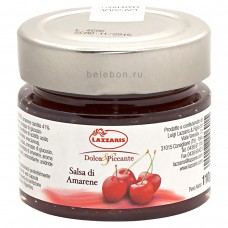 """Соус фруктовый из вишни """"Salsa di amarene"""" 110 г"""